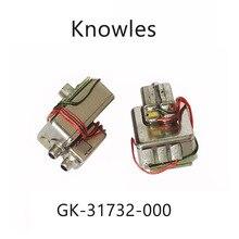 2 шт., трехрычажный приемник динамик Knowles, сбалансированная арматура, для самостоятельной сборки мониторов