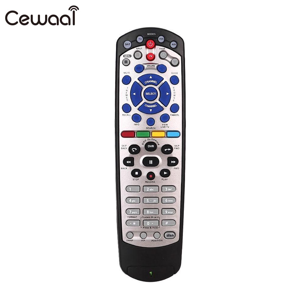 Cewaal 433 MHz Replaced Button Remote Control For DISH 20.1 Dish Network TV Box IR Infrared RC Television Controllers