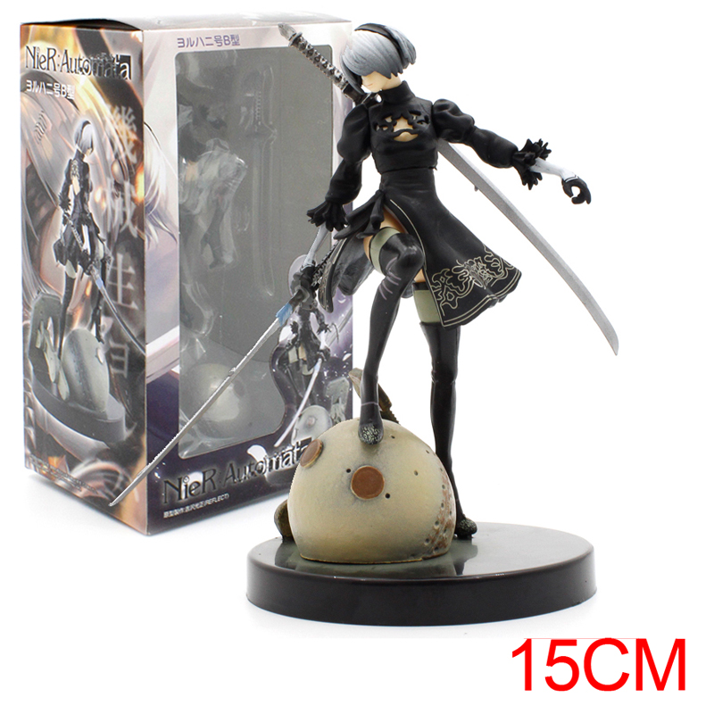 Amine Platinum Games Cyberpunk Square Enix Sword Girl Nier Action Figure Collectible Toys For Christmas Gift amine bouchentouf arabic for dummies