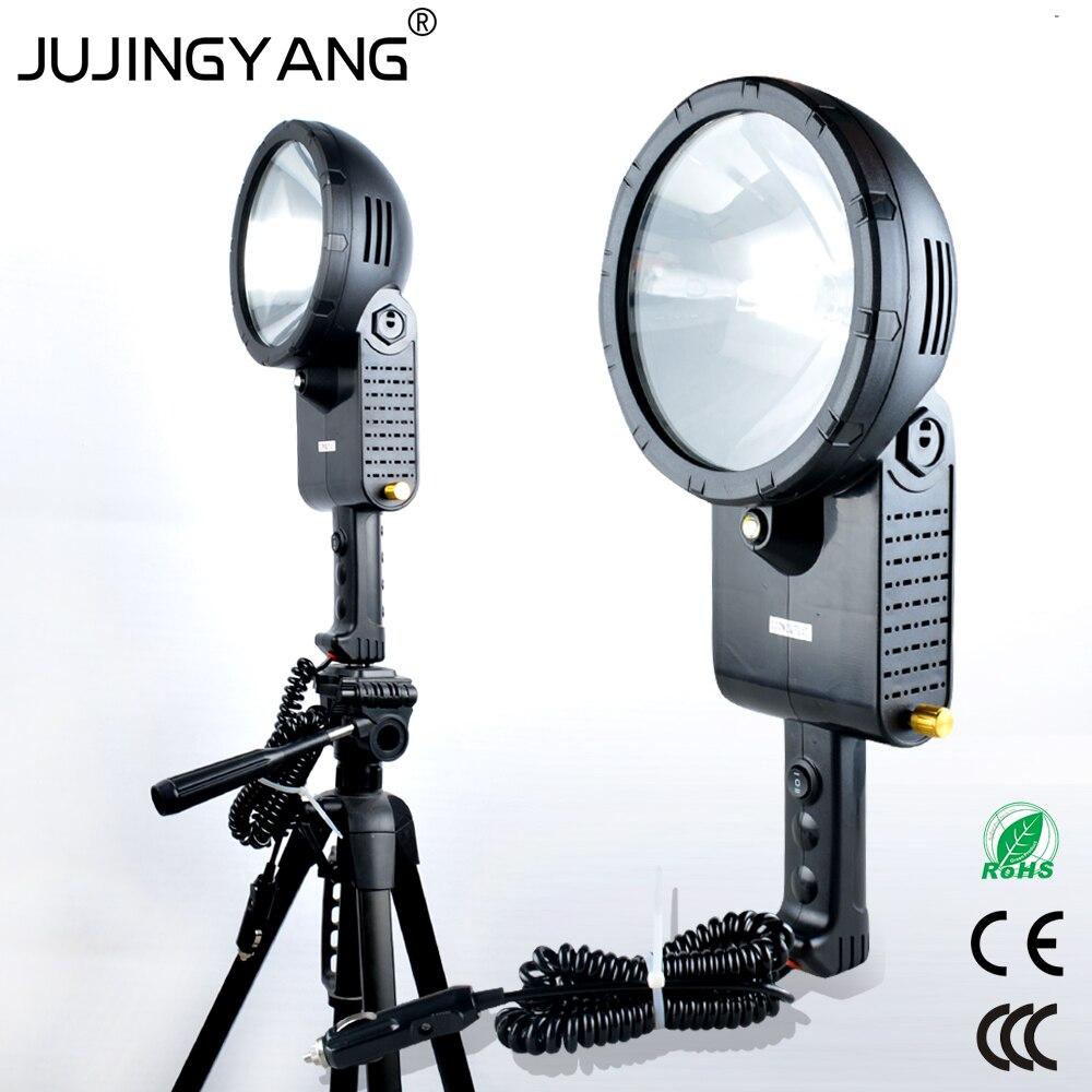 Ручной уличный рабочий светильник HID h3 из АБС пластика 55 Вт 220 Вт, ксеноновая лампа, портативный Точечный светильник, фонарик для охоты, кемпи