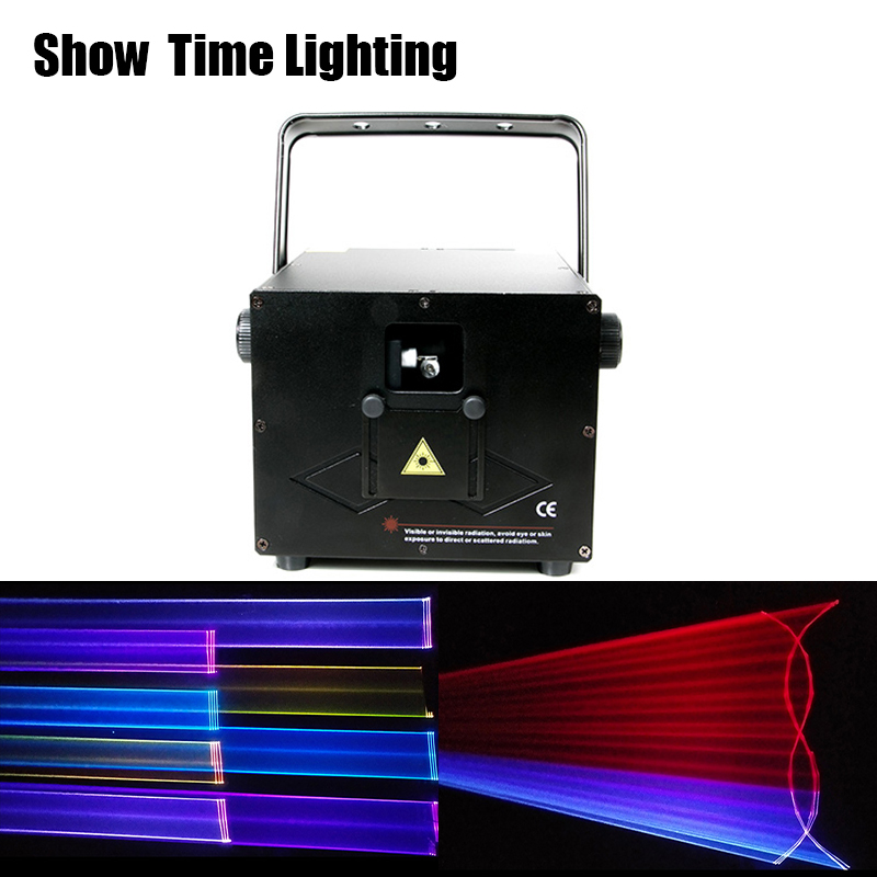Good effect dj laser disco 1W RGB cartoon flower picture laser show use for stage performance home entertainment party DJ Club|Stage Lighting Effect| |  -