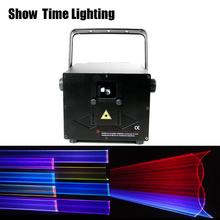 Good effect dj laser disco 1W RGB cartoon flower picture laser show use for stage performance home entertainment party DJ Club 1w laser