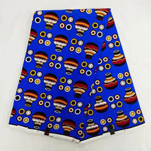 6 Yards Mitex Wax Print/ African Fabrics Kitenge/Pagnes/Tissues Africain/ Lapa/Chitenge NAR-5