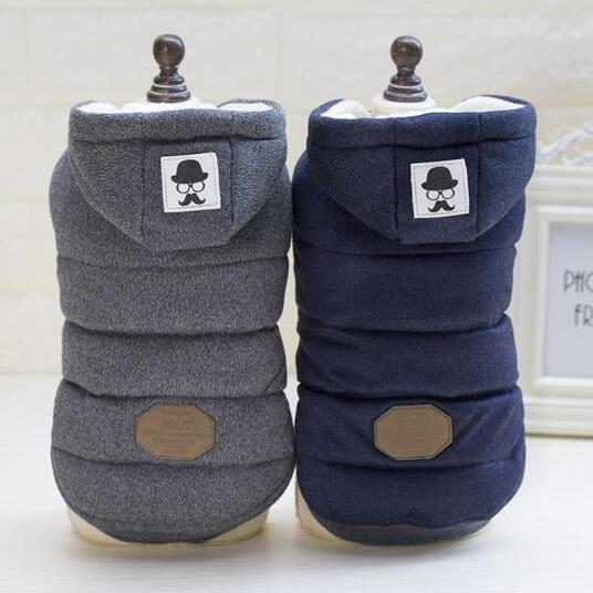 High Quality soft cotton 100% New Dog Clothes Winter Dog Coat Jacket Size (S M L XL) Yorkshire Chihuahua Puppy pet Costume