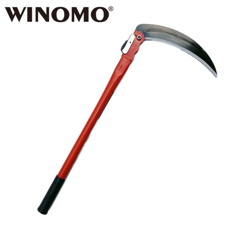 Charmant WINOMO Gardening Grass Sickle Lightweight Sharp Long Handle Hand Sickle  Hand Scythe Garden Tool For Weeding