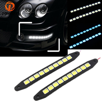 POSSBAY 5 Pairs Car Auto SUV Signal Backup Corner Tail Reverse Daytime Running Lights DRL License Plate Accent Light