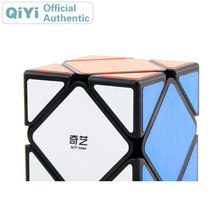 QiYi QiCheng A Skewed Magic Cube XMD Cubo Magico Professional Neo Speed Cube Puzzle Antistress Fidget Toys For Children qiyi qicheng skewb speed magic cube 2 on 2 speed cube magic bricks block brain teaser new year gift toys for children