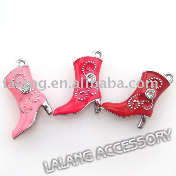 45pcs/lot Wholesale Fashion 3 Mixed Boots Charms Pendants Beads Jewelry Accessory Bracelets & Christmas Gift 140144