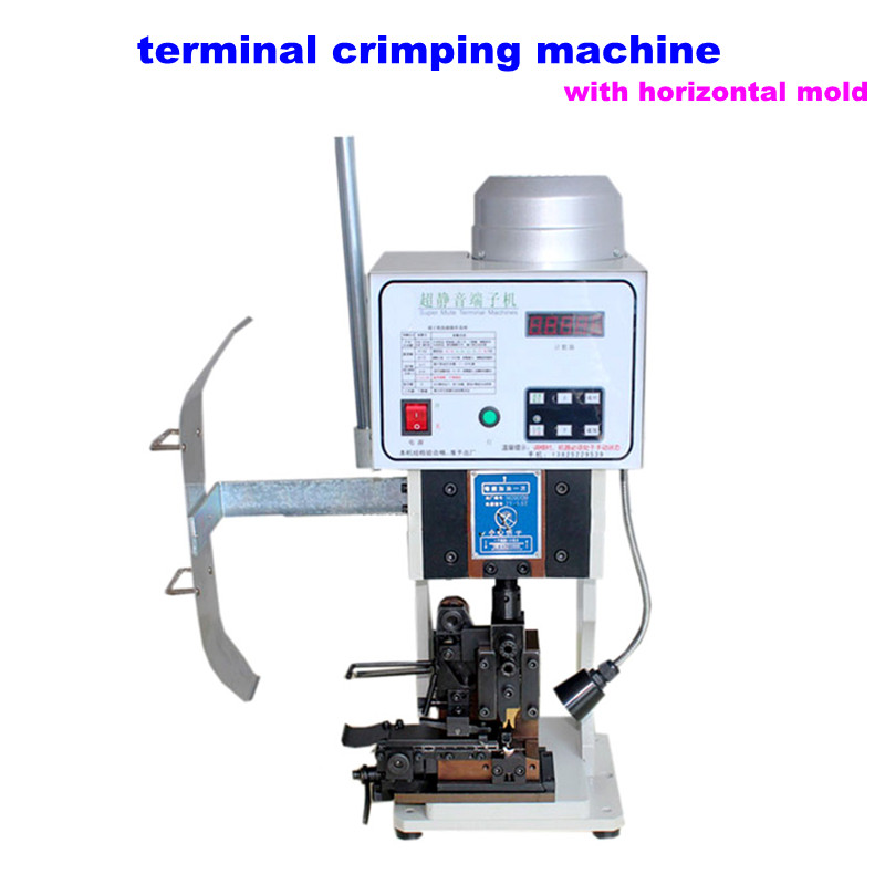 automatic terminal crimping machine LY 1.5T with horizontal mold ...