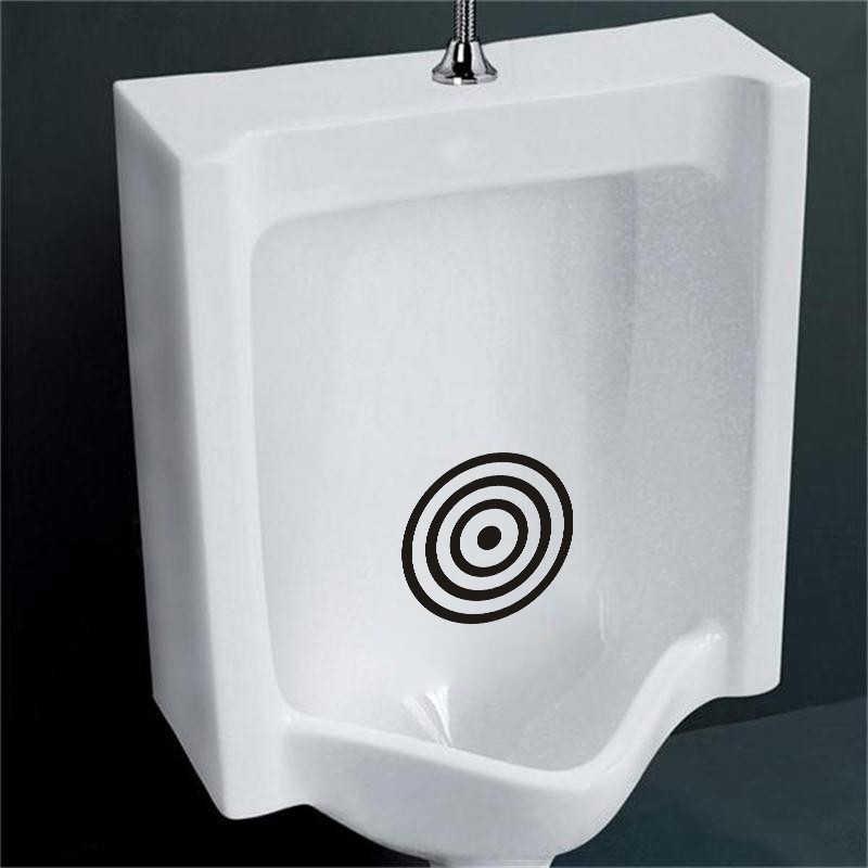 Objetivos de entrenamiento de orinal de baño para hombres y niños calcomanía de vinilo pegatina decoración del hogar PVC creativo Baño