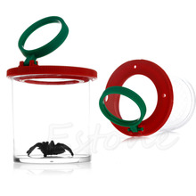 New Bug Box Magnify Insect Viewer Entomologists 2 Lens Magnification Childs Toy
