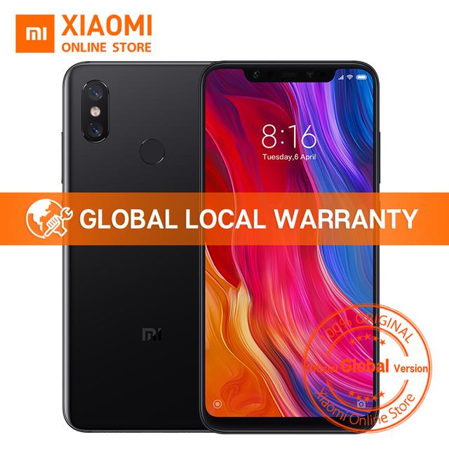 Global Version Xiaomi Mi 8 6GB 128GB 6.21″ Full Screen Snapdragon 845 Octa Core 20MP Front Camera Face Unlock NFC Mi8 Smartphone