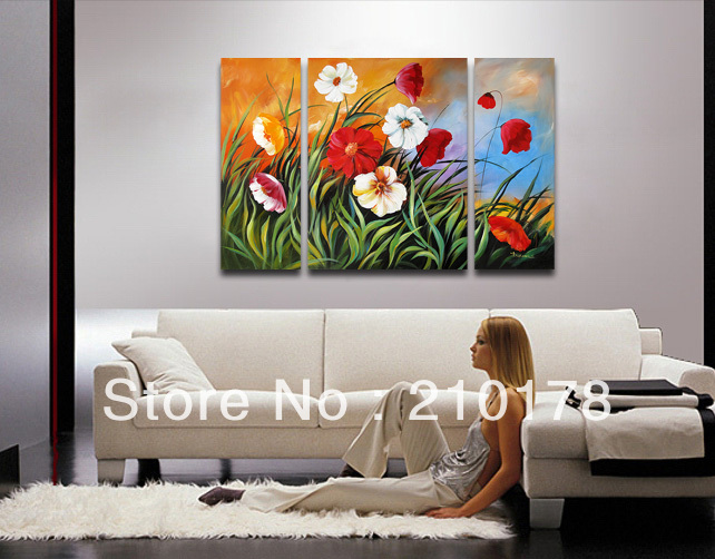 handmade oil painting on canvas modern 100%  Best Art Flower oil painting original  directly from artis FL3-097handmade oil painting on canvas modern 100%  Best Art Flower oil painting original  directly from artis FL3-097