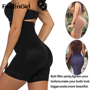 Image 5 - FeelinGirl Women High Waist Control Panties Body Shaper Slimming Tummy Underwear Girdle Panty Shapers Butt Lifter Hip Enhancer