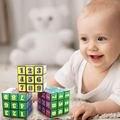 Figura Carta Magnética Bloque Cubo Mágico Puzzle Cubo Mágico Cubo Educativo Para Niños de Los Niños