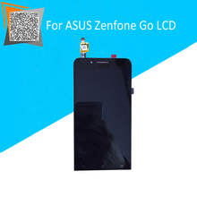 For ASUS Zenfone Go ZC500TG LCD Display with Touch Screen Full Assembly Black Replacement Parts with Original LOGO