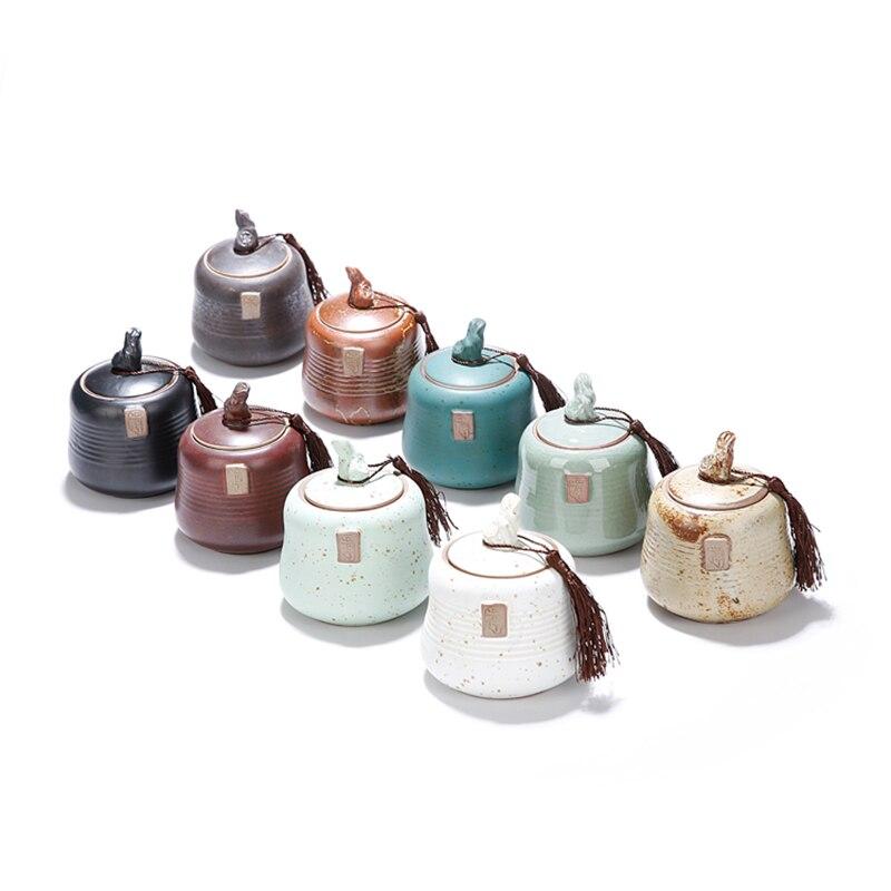2018 герметичны угги банку домашнего Кухня Кофе сахар Чай для хранения бутылок, банок Кухня аксессуары Аромат Поле 9 видов стилей