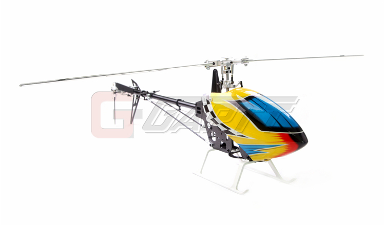 Ormino RC Gartt 450 DFC Torque Tube ( include Canopy & Blade) 450 pro dfc tail boom mount torque tube front drive gear set for trex 450 helicopter
