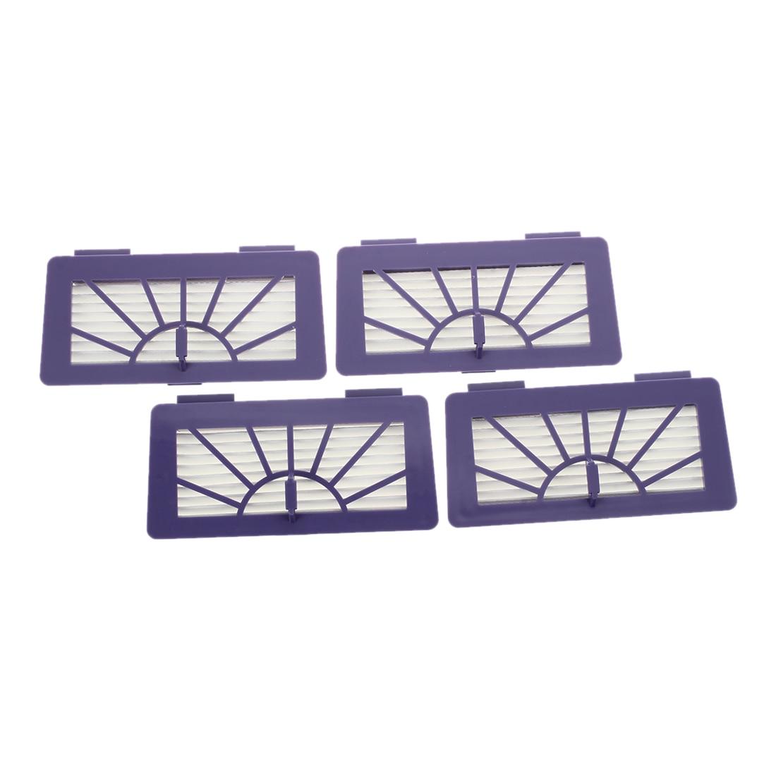 4 шт. Hepa фильтры для Neato XV-15, XV-11, XV-12, XV-25, XV-21 и Vorwerk VR100 роботов-пылесосов робот