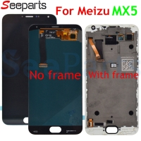 100% Tested For Meizu MX5 LCD Display +Digitizer Touch Screen Glass Replacement Parts For Meizu MX5 LCD With Frame