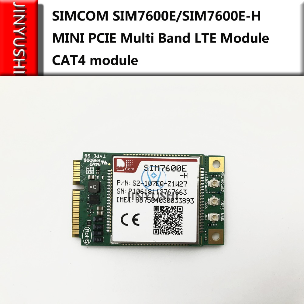 SIMCOM SIM7600A-H/SIM760 0SA-H/SIM7600E-H  Mini Pcie SIM7600 CAT4 модуль Muti Band competititive с mikrotik