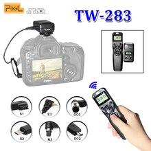 Pixel TW-283 для Canon D750D Nikon D3100 D7100 D7000 D5100 D5000 камеры sony Беспроводной Таймер Пульт дистанционного спуска затвора кабель управления
