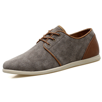 Men Casual Shoes 2018 Lace Up Men Fashion Sneaker Lightweight Soft Outdoor Walking Blue Brown Man Flat Trainer