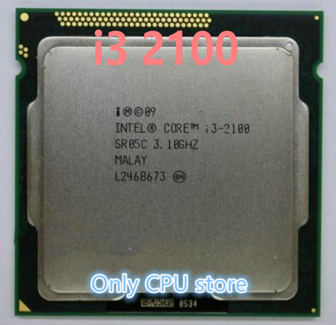 Intel Core i3-2100 3.1GHz Dual-Core Desktop Processor SR05C LGA1155