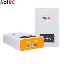 Новинка, балансирующее зарядное устройство Hotrc A400, с функцией быстрой зарядки для радиоуправляемых квадрокоптеров, 3000 мАч, со светодиодным ...