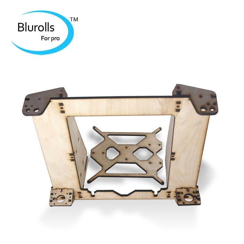 3d printer parts reprap mendel prusa I3 improved laser cut frame wooden in 6mm plywood free shipping