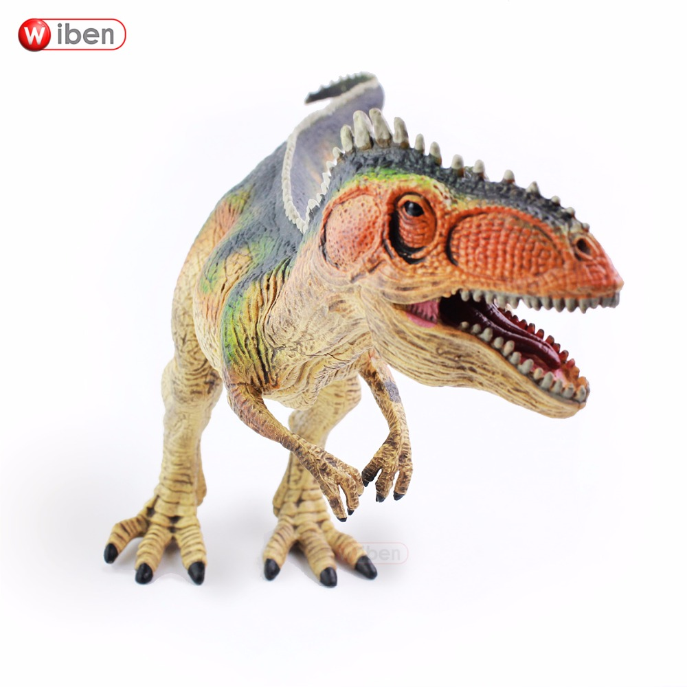 Wiben Jurassic Giganotosaurus Dinosaur Toys Action Figure Animal Model Collection Learning & Educational Kids Birthday Present wiben jurassic carcharodontosaurus toy dinosaur action