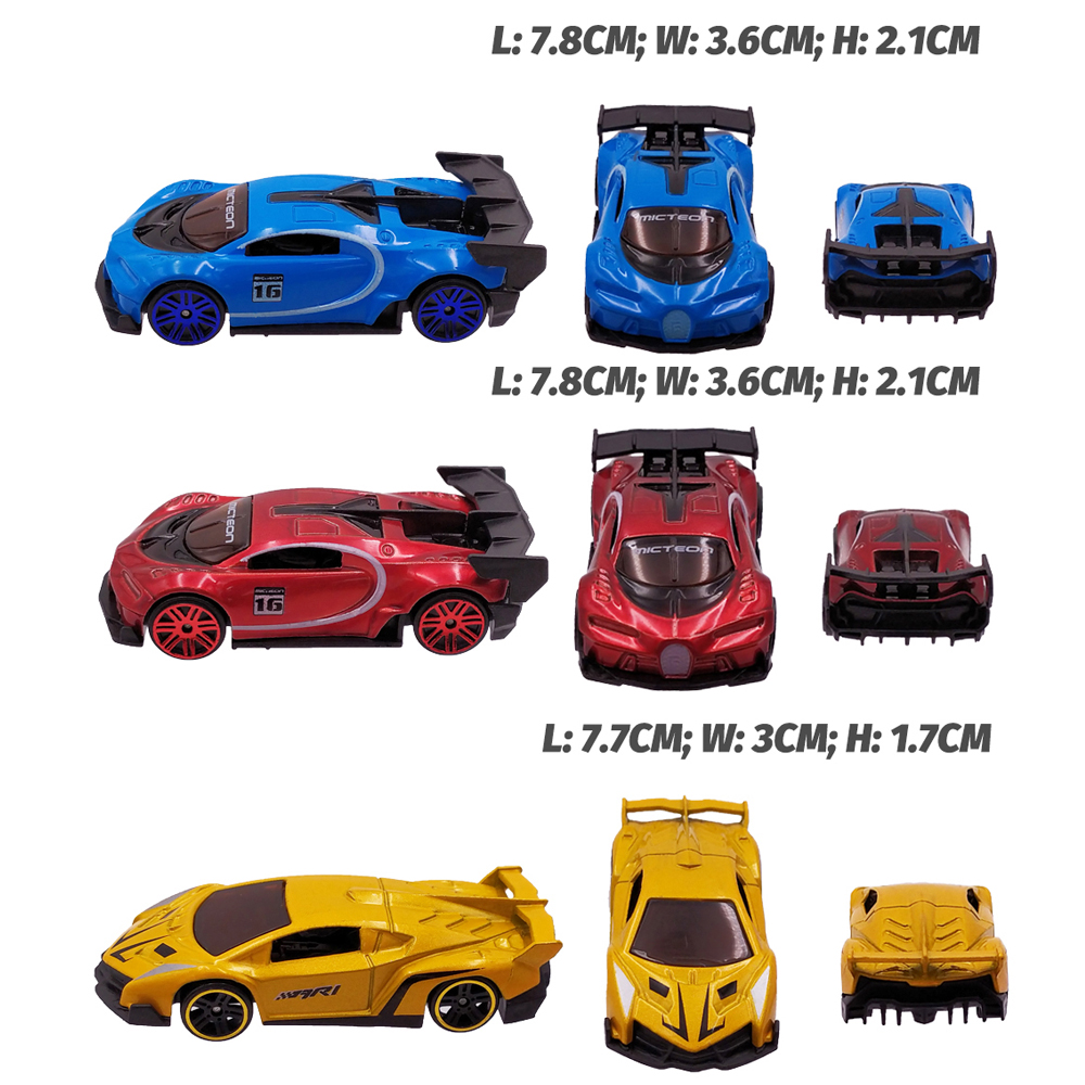 Image 4 - 12 Metal Toy Cars 12in1 Super Value Alloy Diecast Toy Vehicles Model Truck Race Car Play Set 12 Mini Cars for Boys Gift for Kids-in Diecasts & Toy Vehicles from Toys & Hobbies