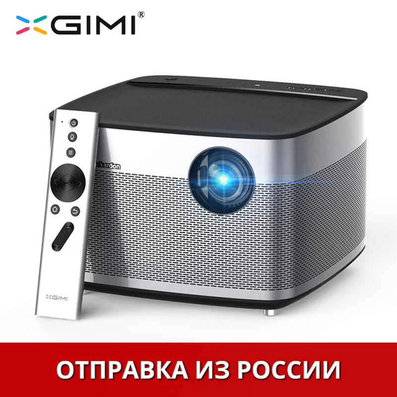 XGIMI H1 Home Theater Projector 4K TV Full HD Mini Projetor 3D Led Projector 300 Proyector 3GB Android Bluetooth Beamer original xgimi z4 aurora 4k projector led 3d full hd projetor mini projector portable dlp projector home theater cinema beamer