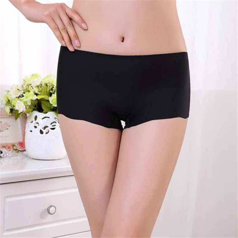 ff6608bfabdb ... #3055 Women Invisible Underwear Underpants Boxer Briefs Spandex Seamless  Crotch D50 ...