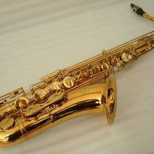 Профессиональный Золотой тенор саксофон
