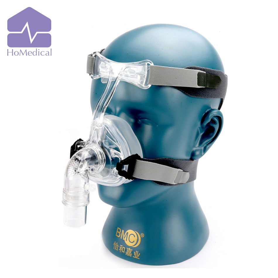ФОТО HoMedical NM2 Nasal Mask With Headgear for Sleep Apnea Patient/OSA Patient/Snoring Patient