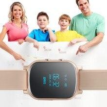 Wrist Smart Watch GPS+GSM SOS Position Tracking Locater Tracker For Child Elder LKD