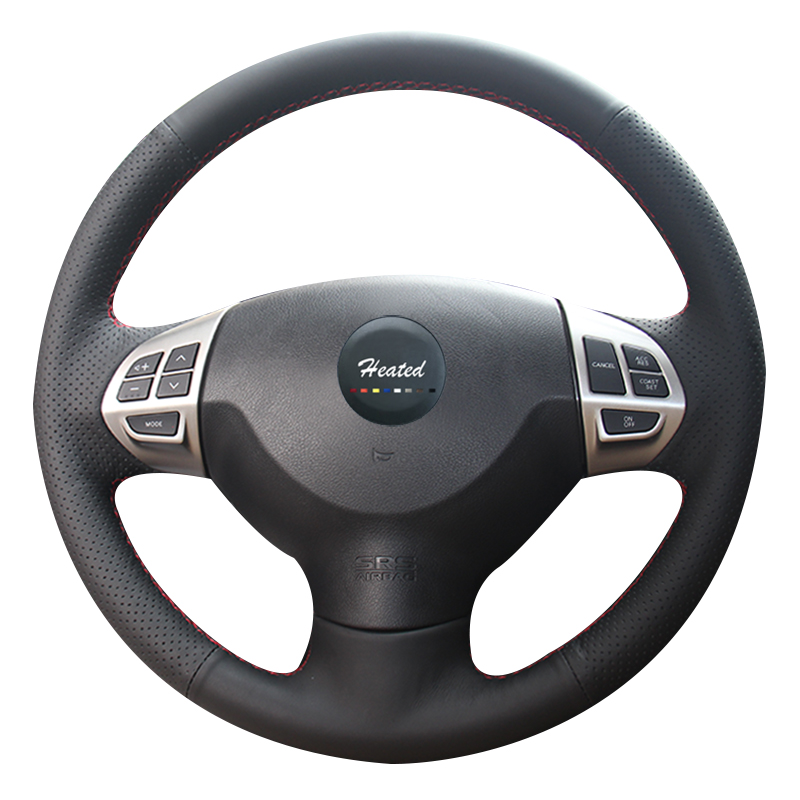 Steering Wheel Cover for Mitsubishi Lancer EX 10 Mitsubishi Outlander ASX Colt Pajero braid on the steering wheel