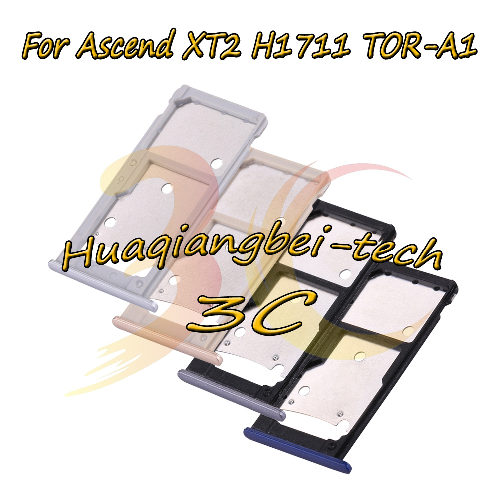 New For Huawei Ascend XT2 H1711 TOR-A1 Sim Card Tray Micro SD Card Holder Slot Adapter Parts Sim Card Adapter