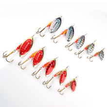 New 1PC Size1-5# Fishing Treble Hooks Mepps Lures Sppon Tackle Peche Accessories