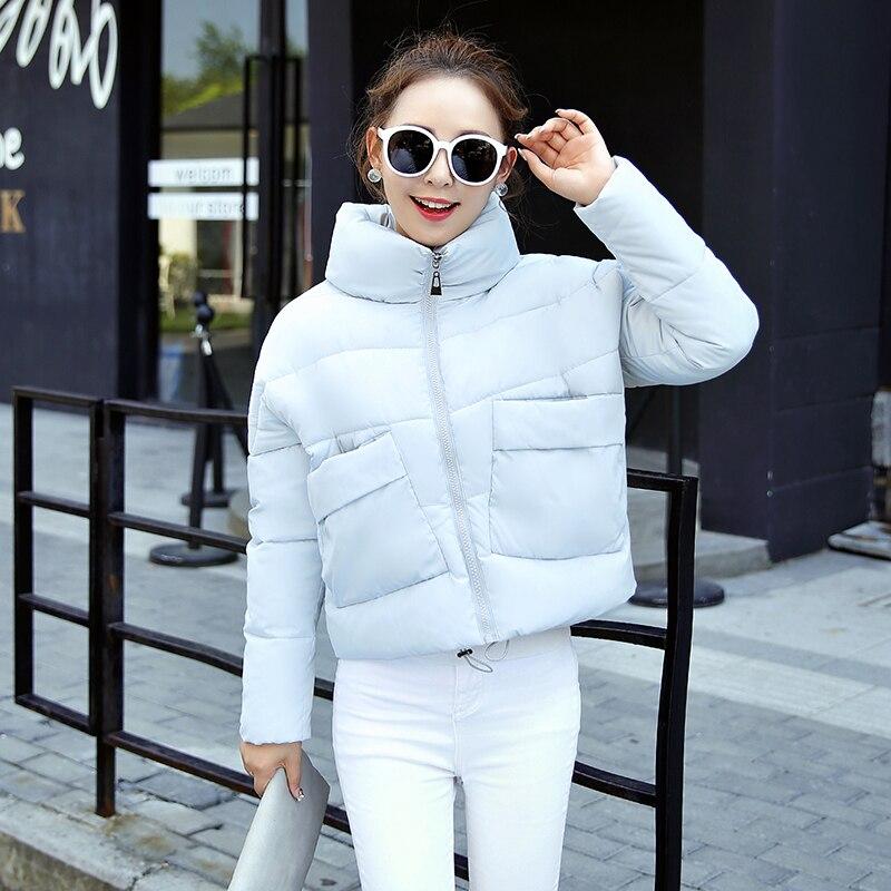 2016 Kış Palto Ceket Kadınlar Parka Kalın Kış Giyim Artı Boyutu Aşağı Ceket Kısa Ince Tasarım Pamuk-yastıklı Ceketler jmsj03