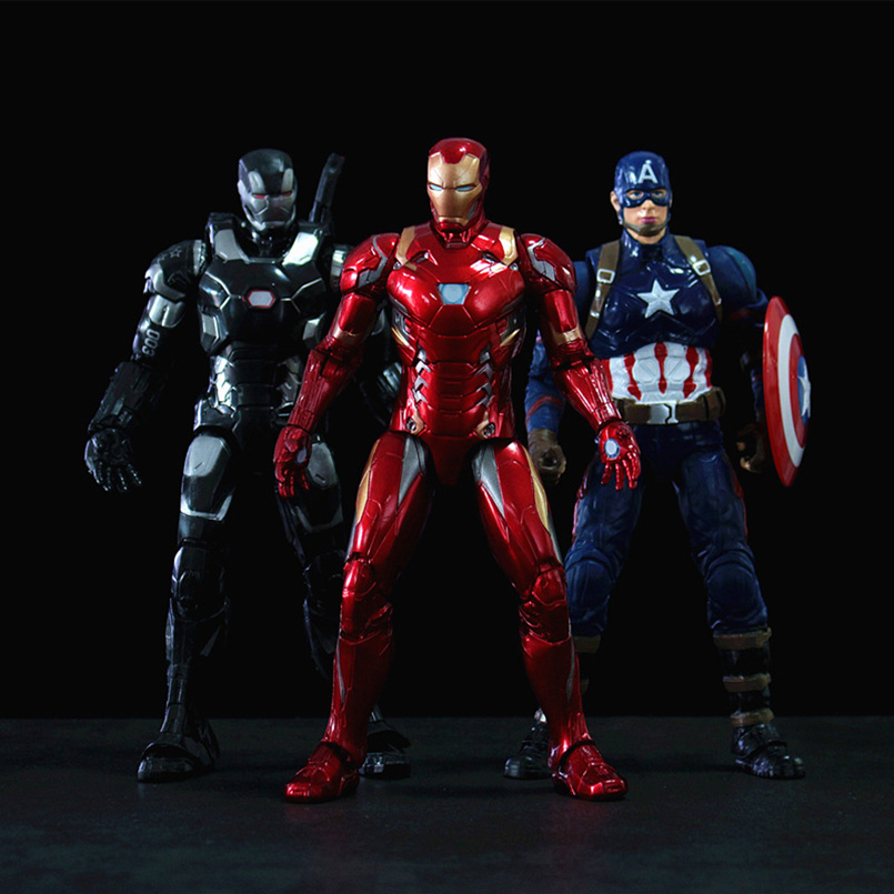 Apaffa Model-Toys Action-Figure Ant-Man Winter Soldier War-Machine Iron Man The Avengers