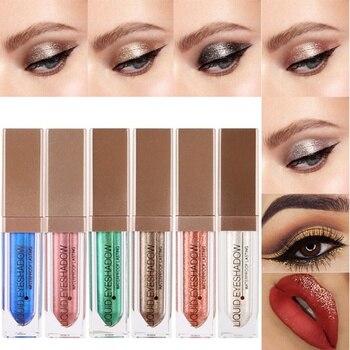 2020 Metal Eyeshadow Glitter Eye Shadow Party Radiant Makeup bottle Fashion Liquid Eye Shadow