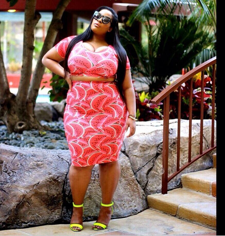 Popular Watermelon Dress Plus Size-Buy Cheap Watermelon Dress Plus ...