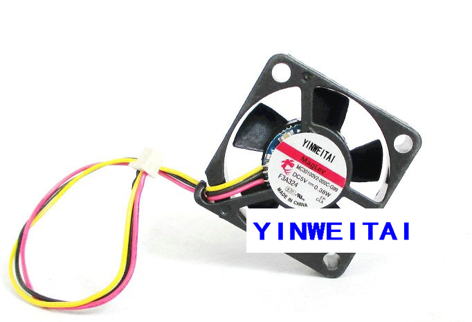 NEW CPU <font><b>FAN</b></font> for 3cm <font><b>5V</b></font> MC30100V2-000C-G99 0.38W, <font><b>30mm</b></font> 12V MC30061V1-Q000-G99 1.0W 3Wire <font><b>Cooling</b></font> <font><b>Fan</b></font> image