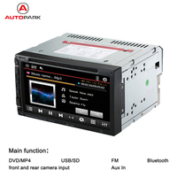 7Inch Universal 2 Din Car DVD Player USB SD MP3 MP4 MP5 WMA FM Radio Bluetooth