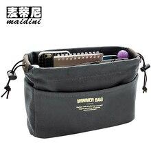 Beige Canvas Cosmetic Bags for Women String Designer Wash Bag Ladies Makeup Cosmetic Cases Travel Toiletry Waterproof Organizer