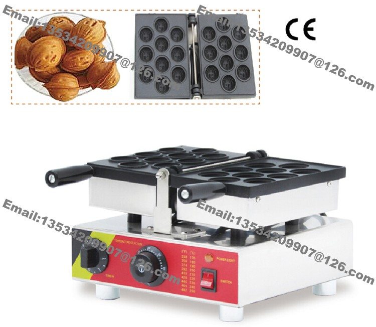 Commercial 220v Electric Nonstick Dutch Stroopwafels Baker Maker Machine EU Plug