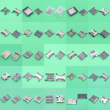 Sim カードリーダホルダー接点モジュールサムスン P5200 S5230 レノボ A520 S850E ため SonyST26 ST26i ため LGG3 d85