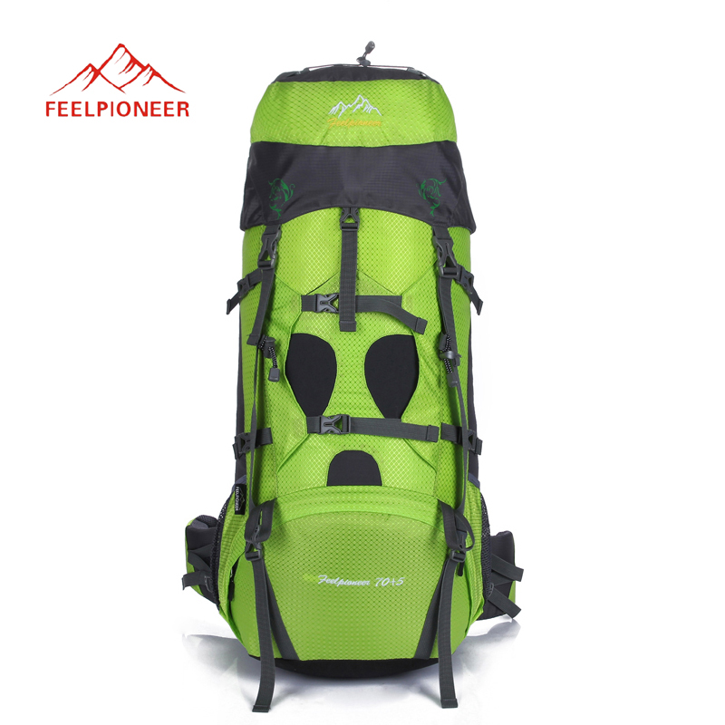 FEEL PIONEER 75L Outdoor Camping Hiking backpack professional Climbing bag large capacity travel sports Rucksacks bubm professional dj bag for pioneer